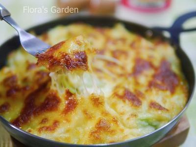 flora焗烤白醬花椰菜-睛睛這一家