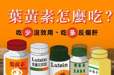 【睛知識】葉黃素怎麼吃?吃少無效、吃多肝負擔!