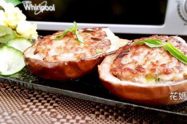 【睛料理】香烤蒜味圓茄堡