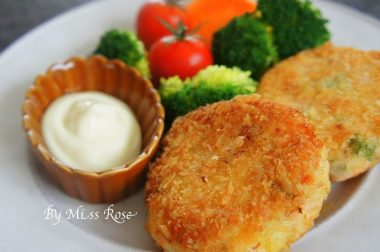 【睛料理】鮭魚馬鈴薯餅
