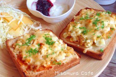 【睛料理】鮪魚蛋沙拉厚片吐司