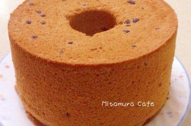【睛料理】藍莓戚風蛋糕