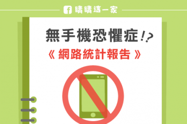 【睛知識】「無手機恐懼症」網路調查報告