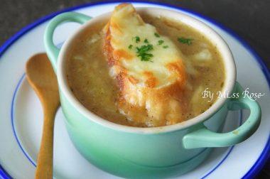 【睛料理】洋蔥湯