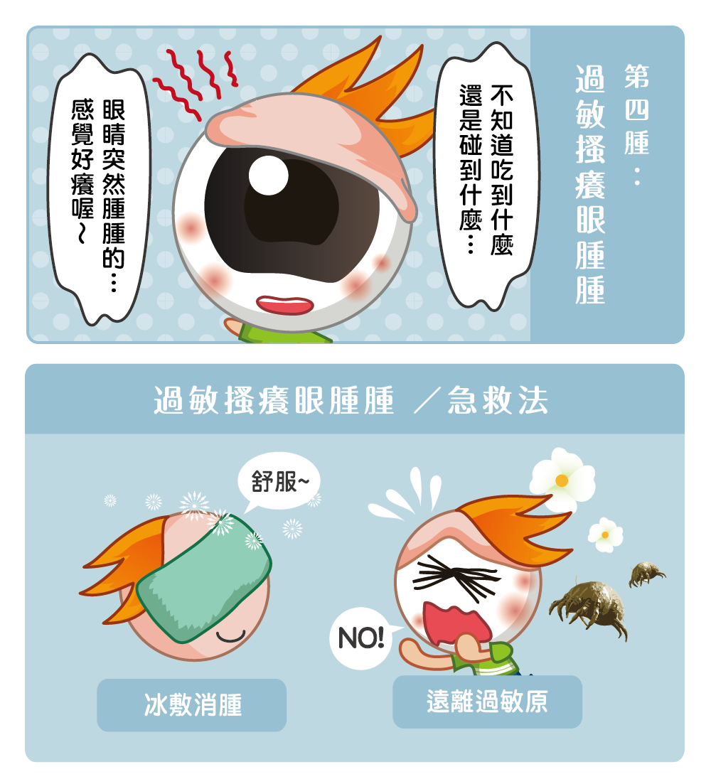 【睛知識】眼睛如何快速消腫?哭腫水腫泡泡眼急救法!