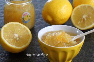 【睛料理】檸檬果醬